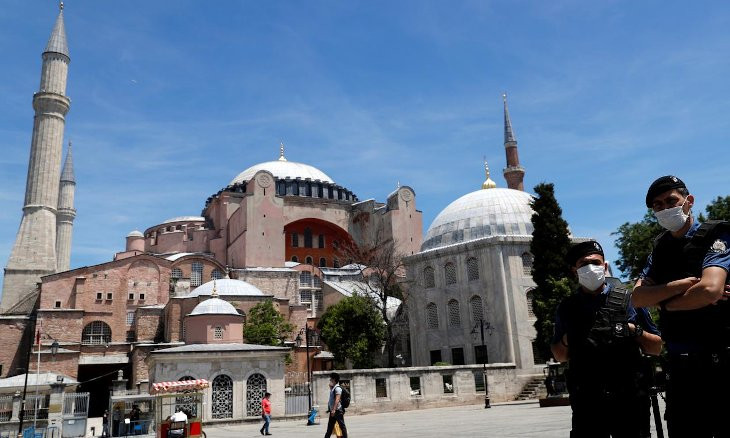 US urges Turkey to maintain the status of Hagia Sophia as museum a day before top court's decision