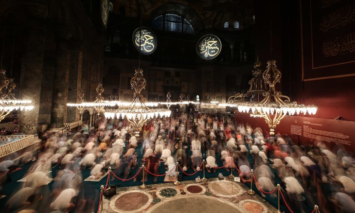 Turkey 'promised to discuss restoration of Hagia Sophia with UNESCO'