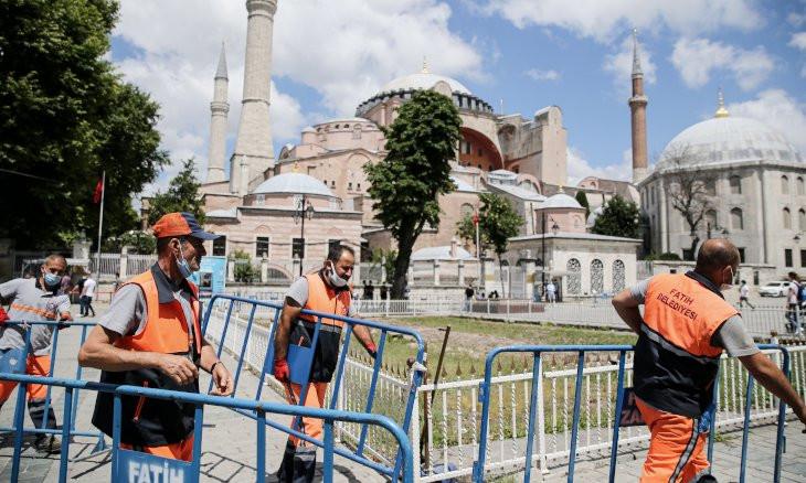 Erdoğan signs decree opening Istanbul's Hagia Sophia to worship as mosque