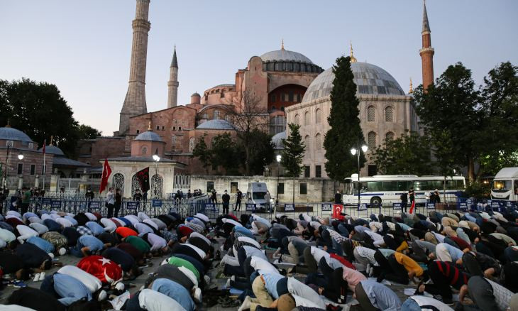 Swiss firm SICPA 'holds operating rights of Hagia Sophia as a museum for seven more years'