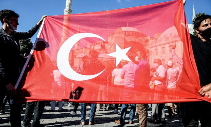 Turkish gov't faces backlash in international arena for converting Hagia Sophia into mosque