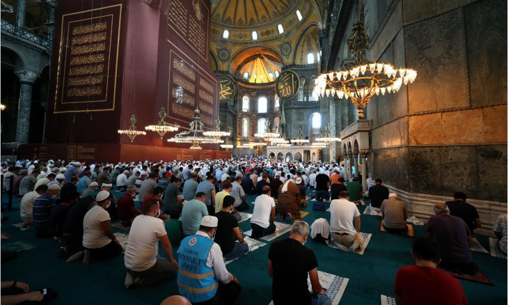 Hagia Sophia not a 'common house,' but a mosque, says Turkey's FM Çavuşoğlu