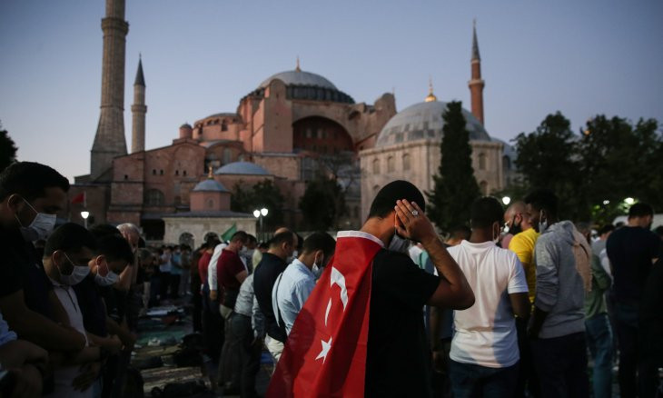 Orhan Pamuk: Conversion of Hagia Sophia is a declaration that Turkey is no longer secular
