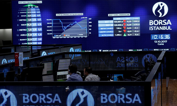 Foreign investment in Istanbul stock exchange below 50 pct, first since 2004