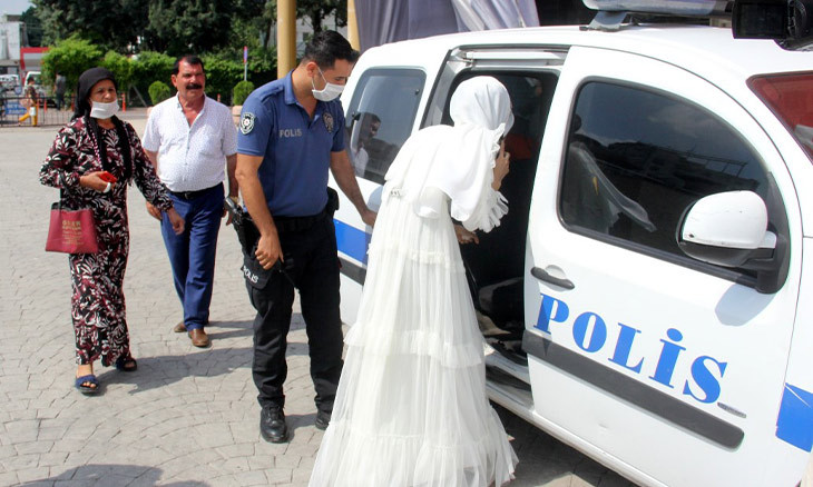 Young woman in southern Turkey succeeds in evading forced marriage after seeking help from police