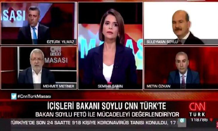 Interior Minister Soylu scolds former AKP deputy on live TV