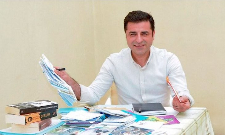 Former HDP co-chair Demirtaş advises opposition to expand its discourse beyond anti-AKP rhetoric