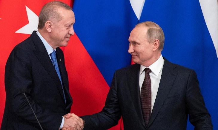 Putin, Erdoğan discuss  Armenian-Azerbaijani border conflict