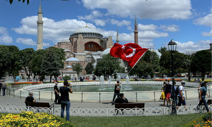 Turkey's 1934 conversion of Hagia Sophia into museum was 'wrong,' 'mistake is being corrected,' says Erdoğan