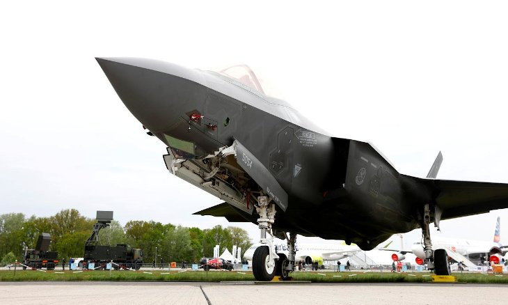 US Air Force officially purchasing F-35 jets originally built for Turkey