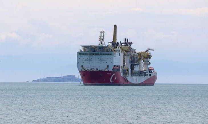 Turkey's drillship Fatih begins drilling in Black Sea