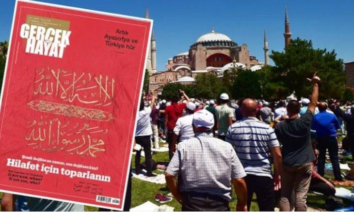 Ankara Bar Association files criminal complaint against Islamist magazine after its call to resurrect caliphate
