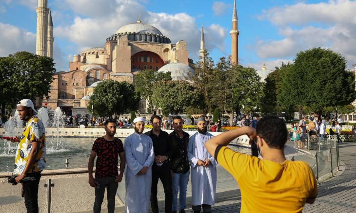 Converting Hagia Sophia into mosque 'is continuation of our July 15 revival'