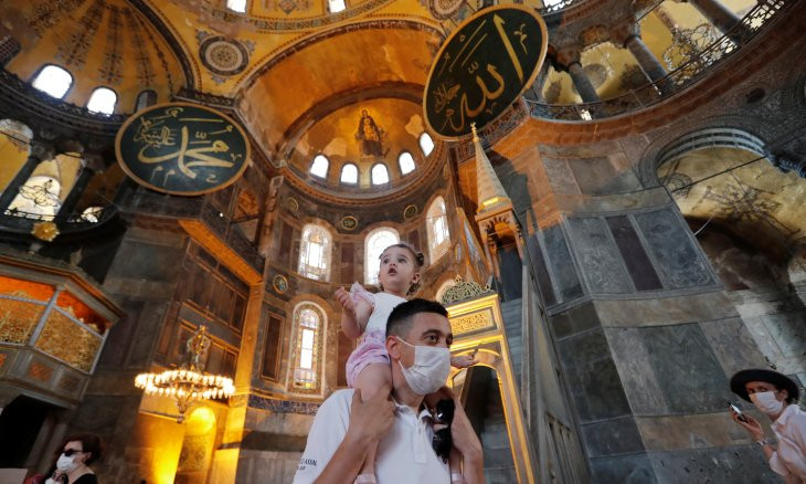 Academics all over the world pen letter against turning Hagia Sophia into a mosque