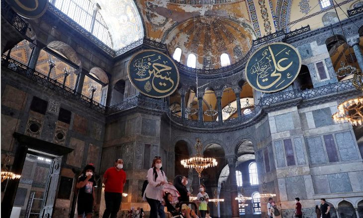 Changes to Hagia Sophia could trigger heritage review, says UNESCO