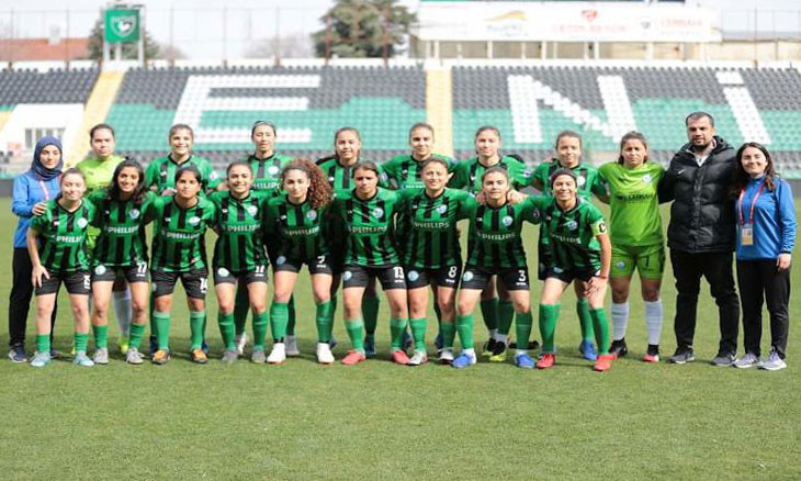 Western Turkish province's only women football team qualifies for Second League