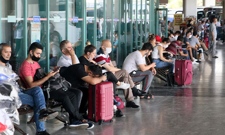 Turkey's vacationers go on Eid al-Adha holiday