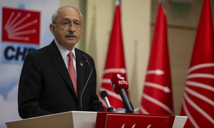 Main opposition CHP chair ordered to pay 556,000 liras to Erdoğan family over offshore money remarks