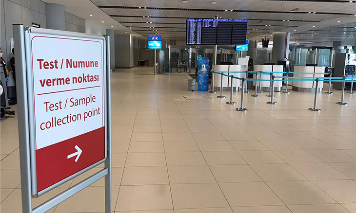 Istanbul Airport to test passengers for COVID-19