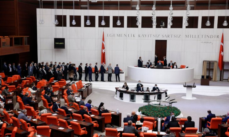 Ruling AKP's Mustafa Şentop reelected as parliament speaker in third round of voting