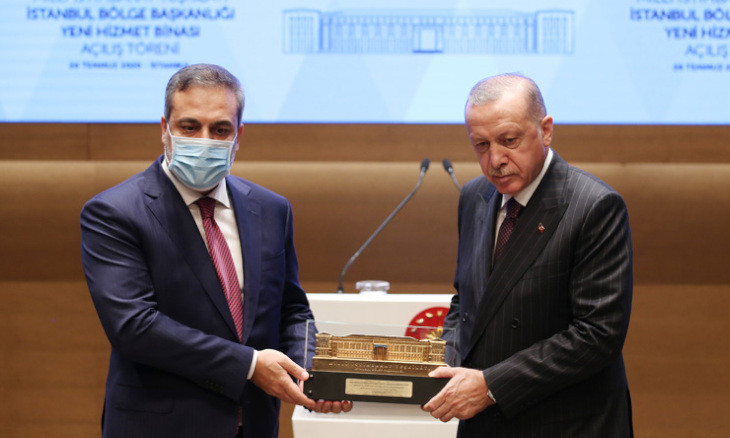 Erdoğan's wrong depiction of the history of Turkish National Intelligence Agency