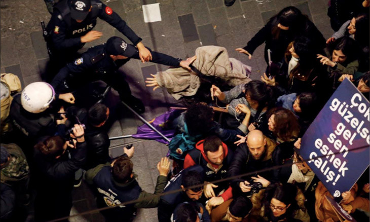 Women in Turkey report 30,000 cases of violence in two years