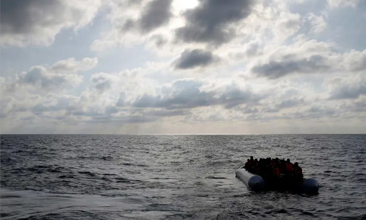 Syrian refugees arrive in Turkish Cyprus by boat, two shot by police