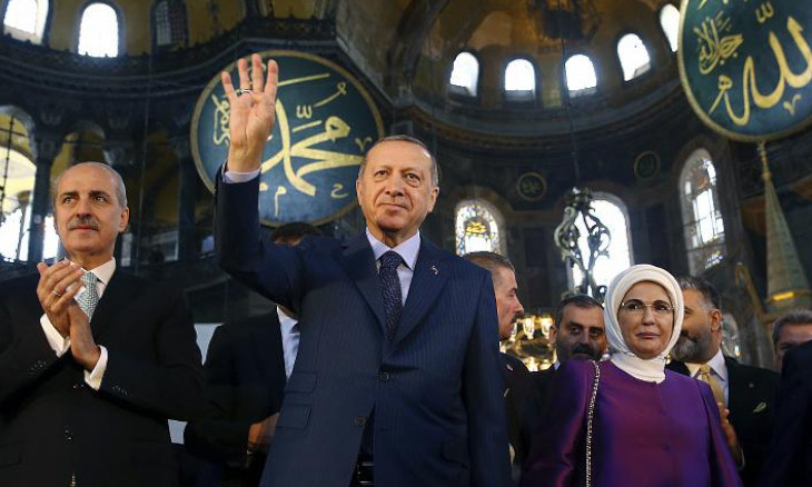 'Erdoğan could not Islamize minds, so he is Islamizing stones instead'