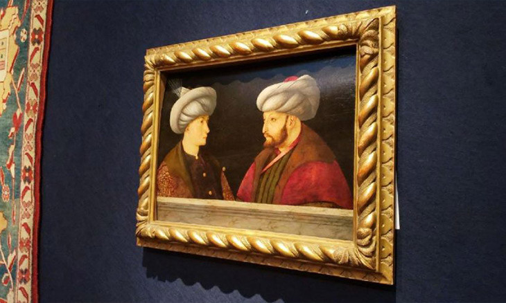 How a rare portrait of Mehmet the Conqueror was shipped from the UK to Istanbul
