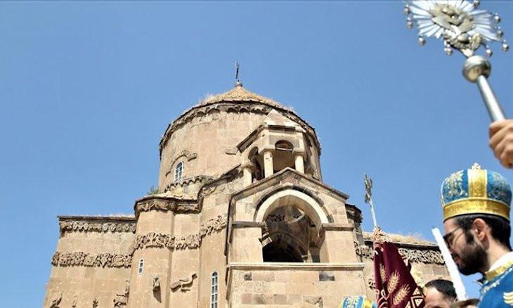 Annual liturgy in Akhtamar's Armenian church to be held behind closed doors