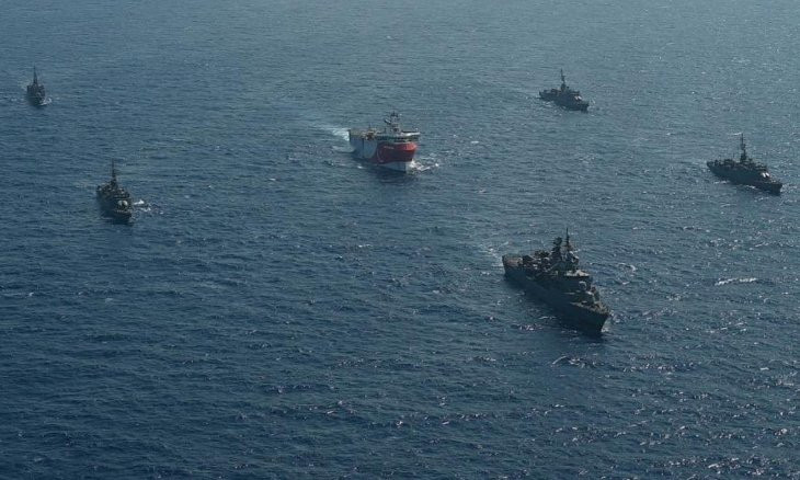 EU 'extremely worried' about developments in eastern Mediterranean