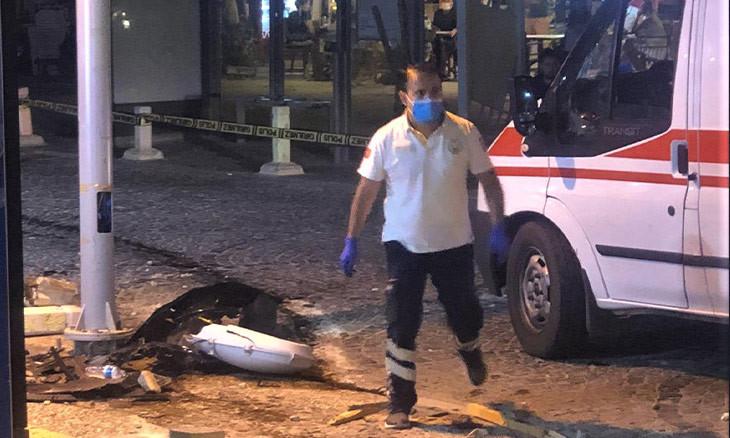 Five injured after drunk driver crashes into Aegean roadside cafe