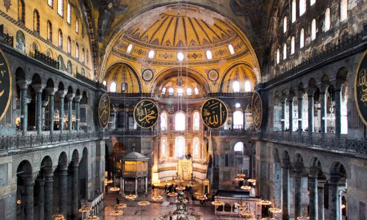 Hagia Sophia: The great amplifier
