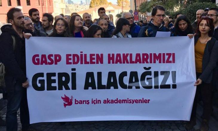 Turkey still violates peace academics' rights, foundation warns