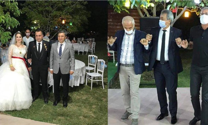 Batman governor, police chief violate coronavirus rules during wedding party