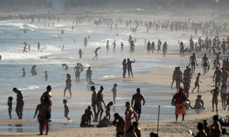 'COVID-19 can still be transferred on beach, in water'