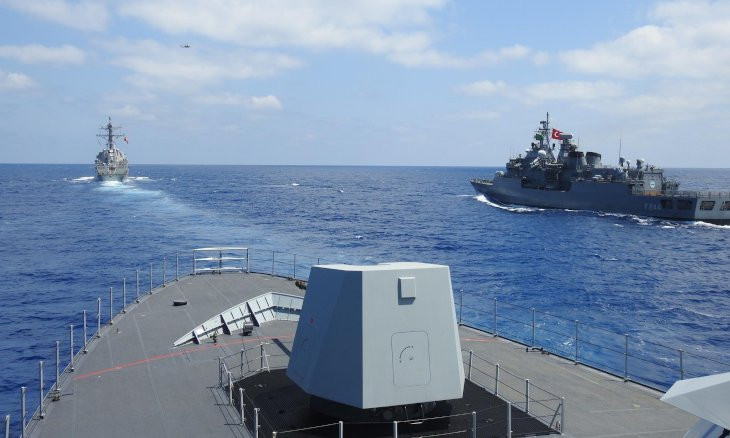 Turkey issues new Navtex for live-fire gunnery exercises in eastern Mediterranean