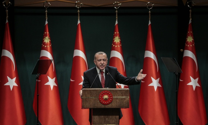 Erdoğan once again cites sales of white goods as indicator of 'increased level of welfare'