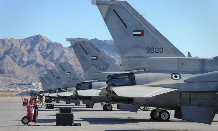 UAE sends F-16 jets to Crete to support Greece against Turkey