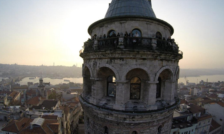 Walls of Istanbul's ancient Galata Tower torn down during 'renovation'