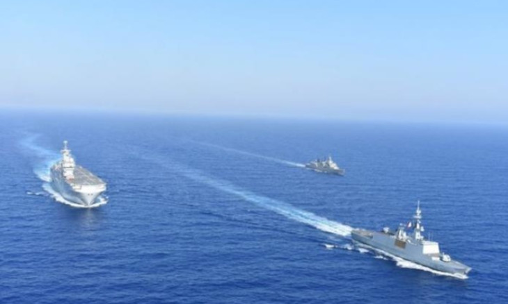Greece ratifies deal with Egypt, Turkey to hold military drills in east Med