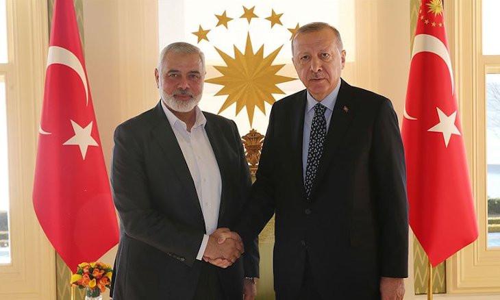 Turkey 'grants citizenship to Hamas members'