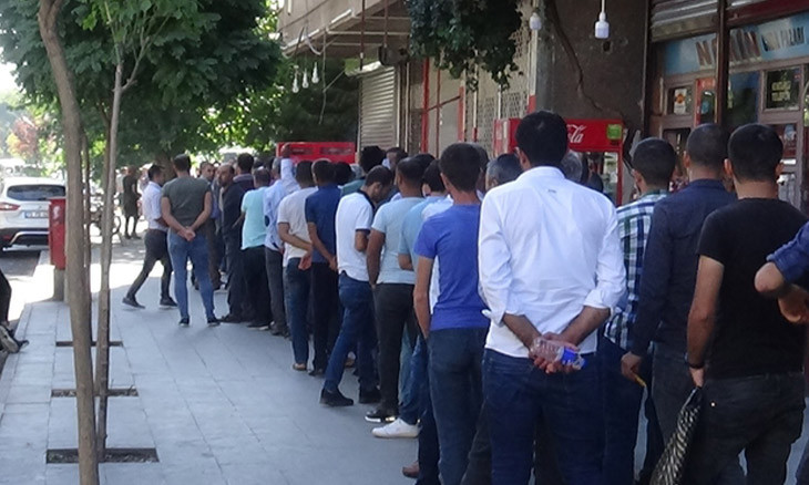 Seasonally adjusted unemployment in Turkey 'up 0.2 percent from May 2019'