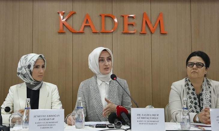 Turkish pro-gov't women's rights organization KADEM voices support for Istanbul Convention