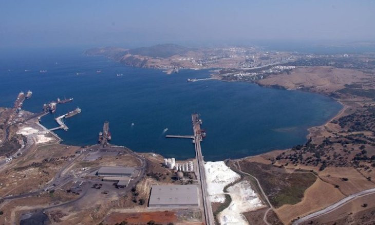 Ancient Aegean city falls victim to encroaching industrial development