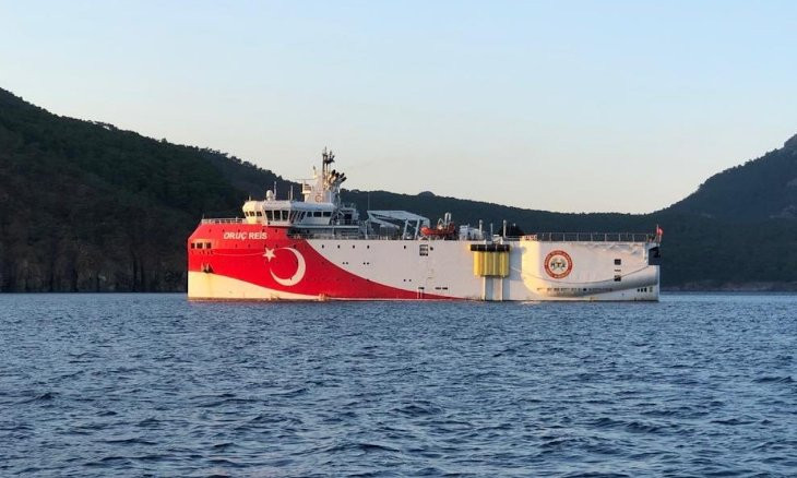 Turkey calls for cooperation to ease tensions in East Med after sending survey ship to disputed waters