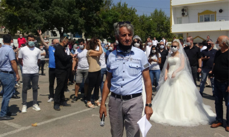 Wedding organizers, couples protest Turkey's event restrictions