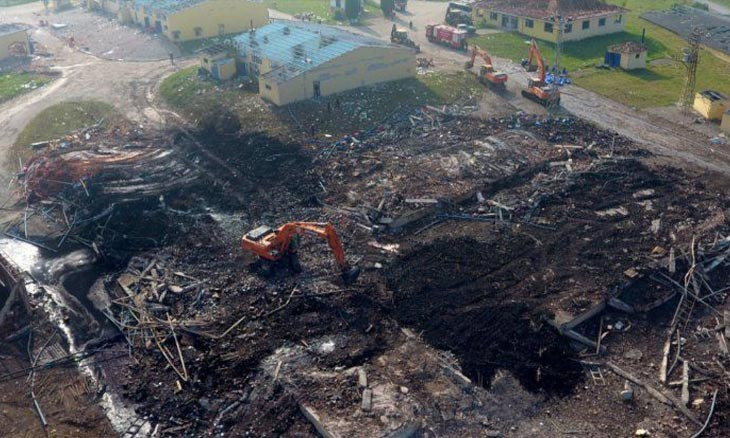 Gross neglect revealed in northwestern Turkey fireworks factory blast that killed seven
