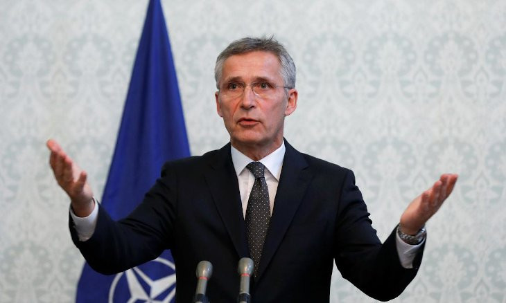 We need to find a way to resolve east Med tensions based on allied solidarity spirit: NATO chief