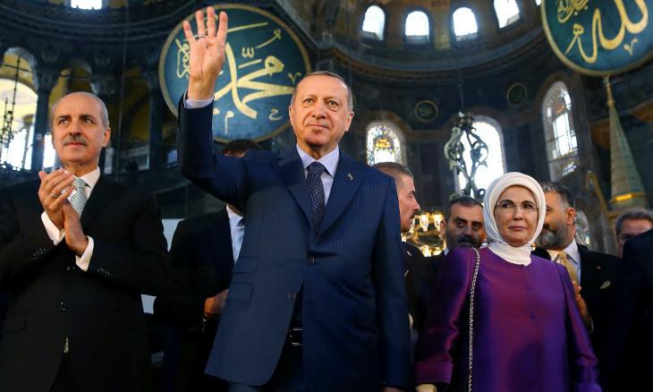 The debate over Hagia Sophia, the New Republic, Hrant Dink and Tahir Elçi